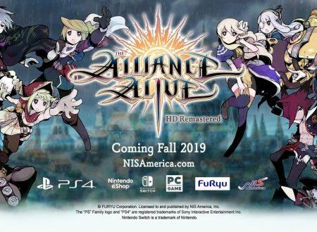 The Alliance Alive HD Remaster sarà pubblicata in Autunno sui Nintendo Switch europei