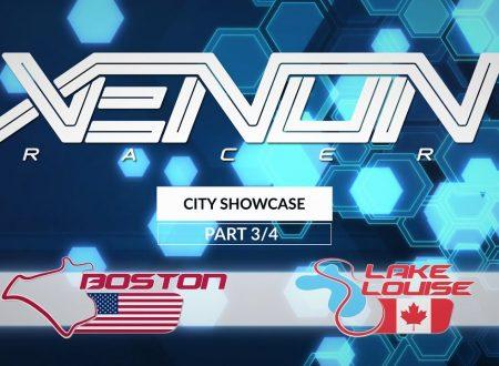Xenon Racer: un nuovo video pubblicato ci mostra i tracciati di Boston e Lake Louise