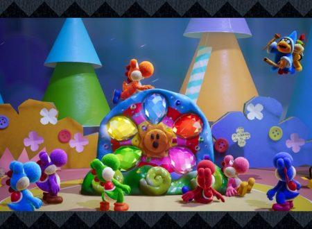 Yoshi's Crafted World: pubblicati dei video preview dedicati al titolo