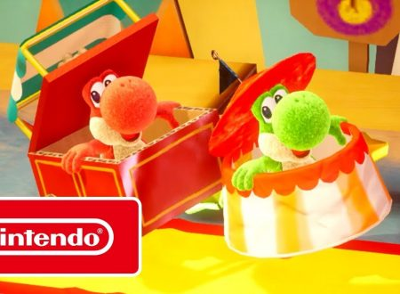 Yoshi's Crafted World: pubblicato il video promozionale, Fai squadra con Yoshi!