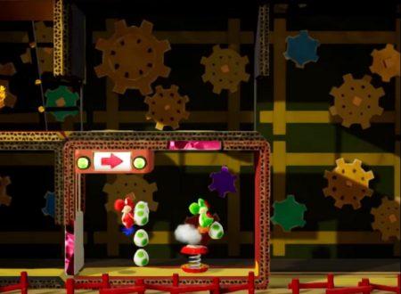 Yoshi's Crafted World: svelato in video lo scenario Shogun's Castle