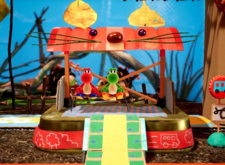 Yoshi's Crafted World: un video ci mostra lo scenario, Weighing Acorns