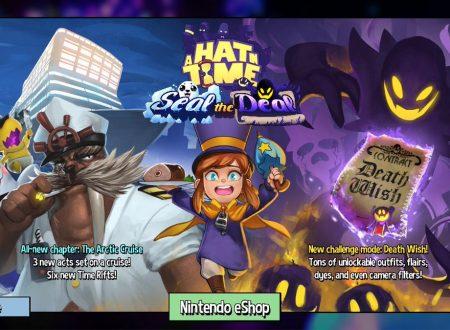 A Hat in Time: il DLC Seal the Deal è in arrivo al lancio del titolo su Nintendo Switch