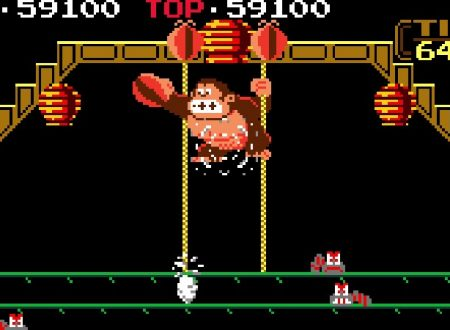 Arcade Archives Donkey Kong 3, pubblicato un video gameplay sul titolo