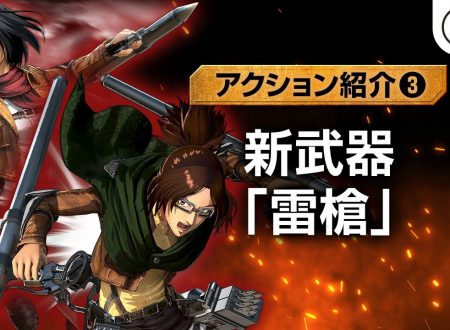 Attack on Titan 2: Final Battle, pubblicato un nuovo video gameplay giapponese da Koei Tecmo