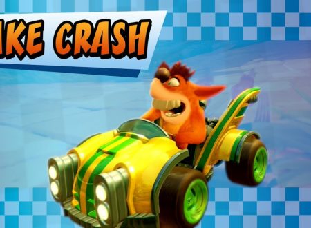 Crash Team Racing Nitro-Fueled: pubblicato un nuovo trailer dedicato a Fake Crash