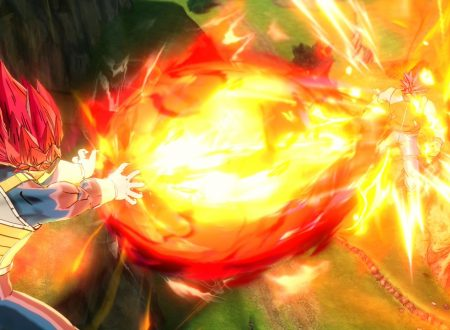 Dragon Ball Xenoverse 2: mostrati i primi screenshots dedicati a Super Saiyan God Vegeta