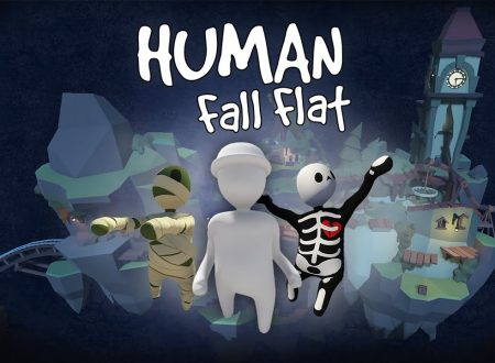 Human: Fall Flat, uno sguardo in video allo scenario Dark, ora disponibile su Nintendo Switch