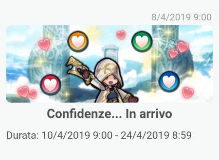 Fire Emblem Heroes: rivelato l'arrivo dell'evento Confidenze: Piena fiducia