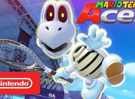 Mario Tennis Aces: pubblicato un nuovo trailer giapponese dedicato a Tartosso