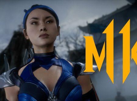 Mortal Kombat 11: pubblicato un reveal trailer dedicato a Kitana