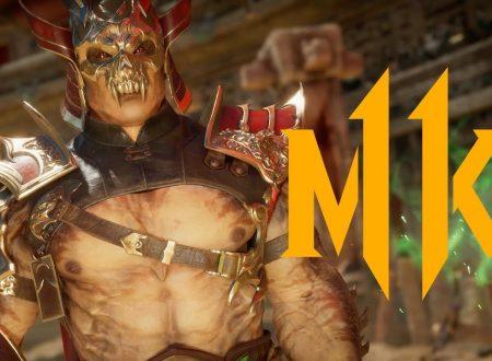 Mortal Kombat 11: pubblicato un reveal trailer dedicato a Shao Kahn