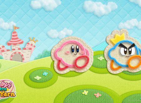 My Nintendo: disponibile uno sfondo dedicato a Kirby e la nuova stoffa dell'eroe