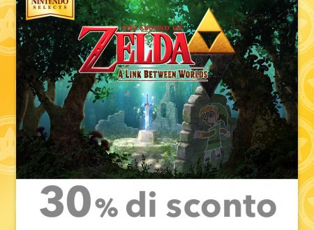 My Nintendo: disponibili nuovi sconti su titoli come The Legend of Zelda: A Link Between Worlds e Paper Mario: Sticker Star, Miitopia ed altri