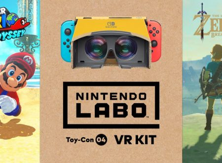 Nintendo Labo Toy-Con 04: VR Kit: annunciata la compatibilità con Super Mario Odyssey e The Legend of Zelda: Breath of the Wild