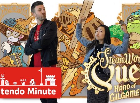 Nintendo Minute: pubblicato un video gameplay su Steamworld Quest