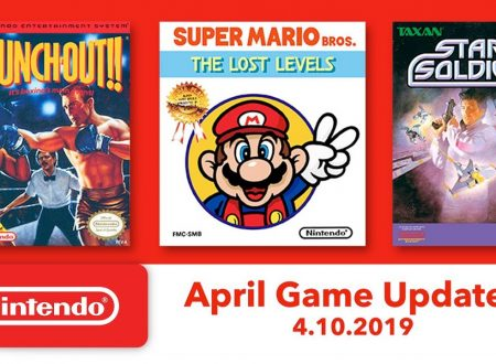 Nintendo Switch Online: Super Mario Bros.: The Lost Levels, Star Soldier e Punch-Out!! sono in arrivo il 10 aprile