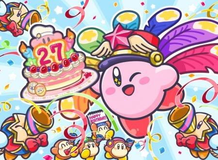 Pubblicato un artwork speciale dedicato al 27° anniversario di Kirby