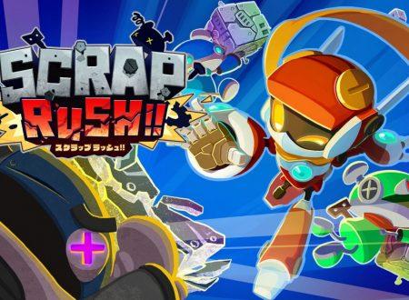 SCRAP RUSH!!, uno sguardo in video alla demo dai Nintendo Switch giapponesi