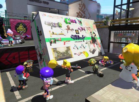 Splatoon 2: il titolo ora aggiornato alla versione 4.6.0 sui Nintendo Switch europei