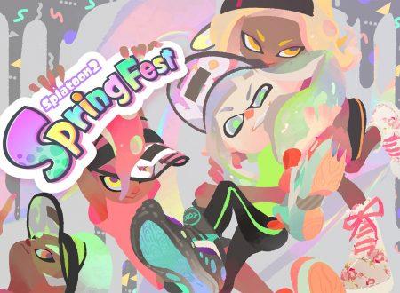 Splatoon 2: mostrato l'artwork ufficiale dello SpringFest, in arrivo questa settimana su Nintendo Switch