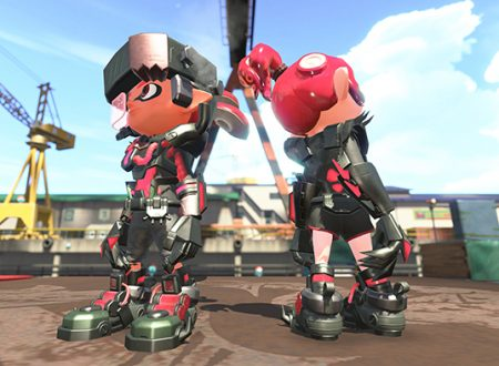 Splatoon 2: pubblicato un video gameplay dedicato ai Mecha Gear