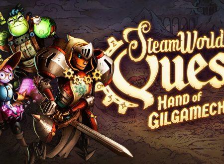 SteamWorld Quest: pubblicato il trailer di lancio del titolo su Nintendo Switch