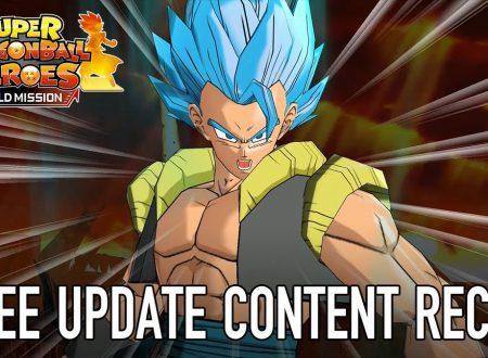 Super Dragon Ball Heroes: World Mission, il titolo aggiornato alla versione 1.01.01 su Nintendo Switch