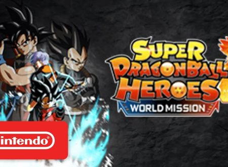 Super Dragon Ball Heroes: World Mission, pubblicato il trailer di lancio del titolo