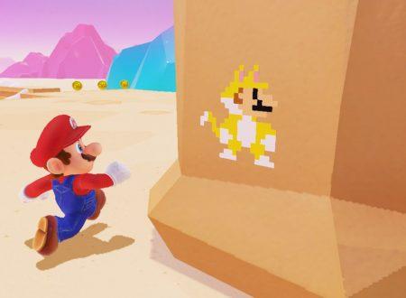 Super Mario Odyssey: il titolo aggiornato alla versione 1.3.0 sui Nintendo Switch europei