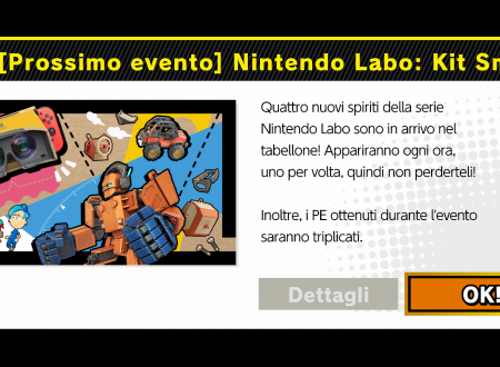 Super Smash Bros. Ultimate: svelato il nuovo l'evento: Nintendo Labo: Kit Smash