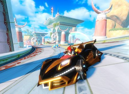Team Sonic Racing: un nuovo video gameplay ci mostra lo stage, Sky Road
