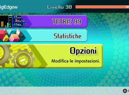Tetris 99: il titolo aggiornato alla versione 1.2.0 sui Nintendo Switch europei