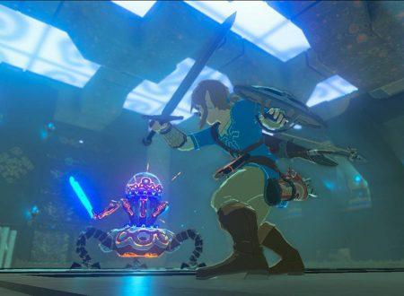 The Legend of Zelda: Breath of the Wild, l'ultimo aggiornamento migliora i tempi di caricamento del titolo