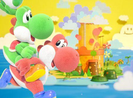 Yoshi's Crafted World: il titolo aggiornato alla versione 1.0.1 sui Nintendo Switch europei