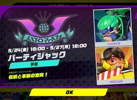 ARMS: svelata la seconda semifinale del torneo Party Crash Bash: Ninjara vs. Mechanica