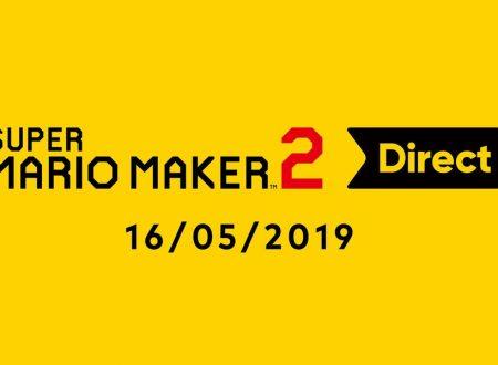 Annunciato un nuovo Nintendo Direct dedicato a Super Mario Maker 2