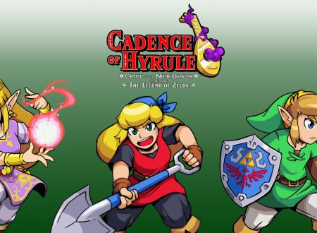 Cadence of Hyrule – Crypt of the NecroDancer: il titolo potrebbe arrivare già da maggio su Nintendo Switch