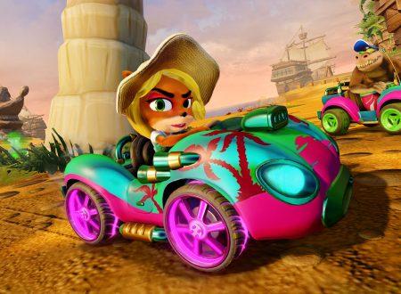 Crash Team Racing Nitro-Fueled: nuove informazioni sui personaggi e la personalizzazione