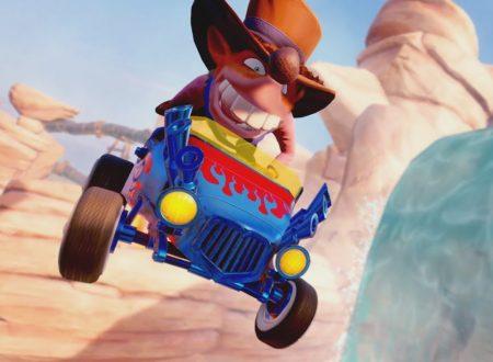 Crash Team Racing Nitro-Fueled: pubblicato un trailer sulla personalizzazione dei veicoli e piloti