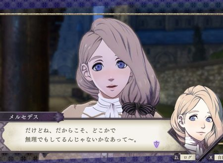 Fire Emblem: Three Houses: l'account Twitter pubblica nuove clip su Mercedes