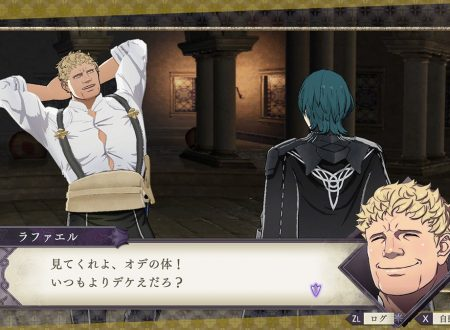 Fire Emblem: Three Houses: l'account Twitter pubblica nuove clip su Raphael