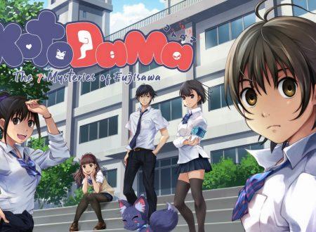Kotodama: The 7 Mysteries of Fujisawa, uno sguardo in video alla visual novel dai Nintendo Switch europei