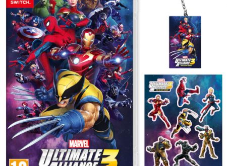 MARVEL ULTIMATE ALLIANCE 3: The Black Order: il titolo è in preorder sul Nintendo UK Store con portachiavi e sticker