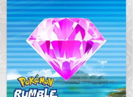 My Nintendo: disponibili i nuovi premi riscattabili all'interno di Pokémon Rumble Rush