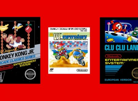 Nintendo Switch Online: Donkey Kong Jr., VS. Excitebike e Clu Clu Land sono i titoli di maggio