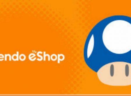 Nintendo eShop: Switch, Wii U e 3DS, le uscite settimanali del 23 maggio 2019