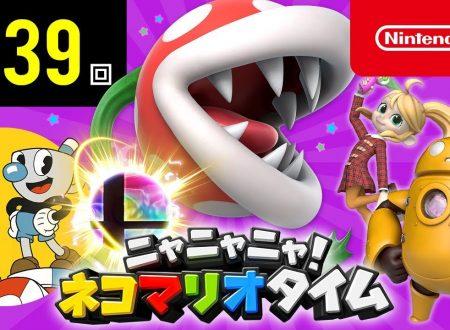 Nyannyan Neko Mario Time: pubblicato l'episodio 139 dello show felino con Mario e Peach