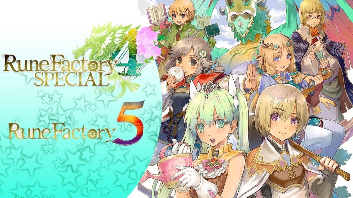 Rune Factory 5: il titolo non sarà rilasciato prima dell'aprile ...