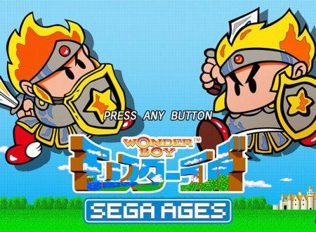 SEGA Ages Wonder Boy: il titolo è in arrivo il 30 maggio sui Nintendo Switch giapponesi